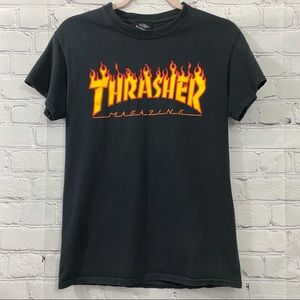 Thrasher Magazine Black T-shirt Size S